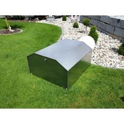 Garage Mower Box Design en Aluminium pour Robot Tondeuse