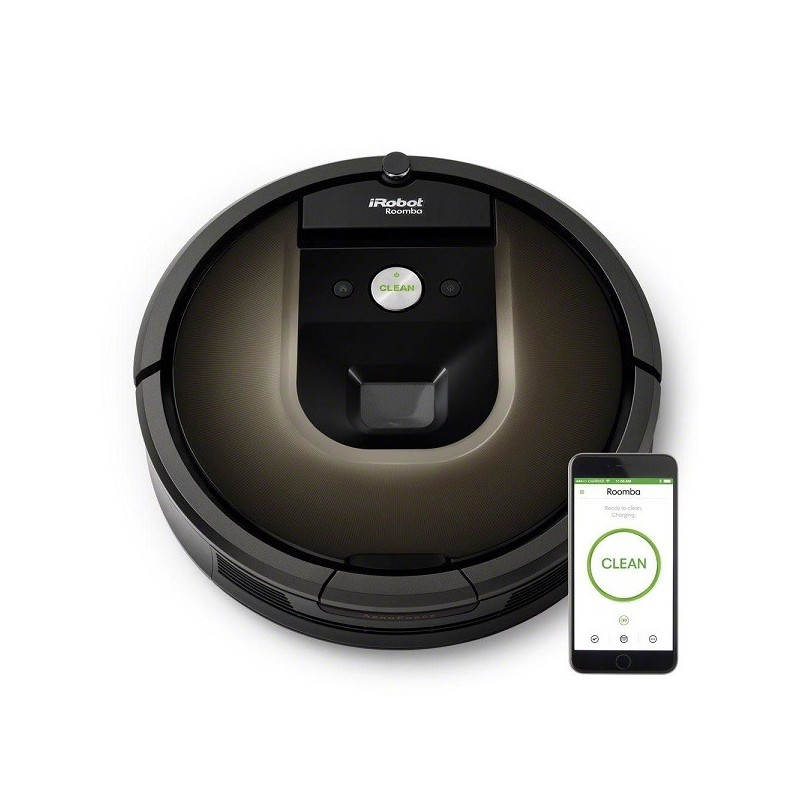 robot aspirateur roomba 980 i robot. Black Bedroom Furniture Sets. Home Design Ideas