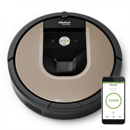 aspirateur robot roomba 966 irobot. Black Bedroom Furniture Sets. Home Design Ideas