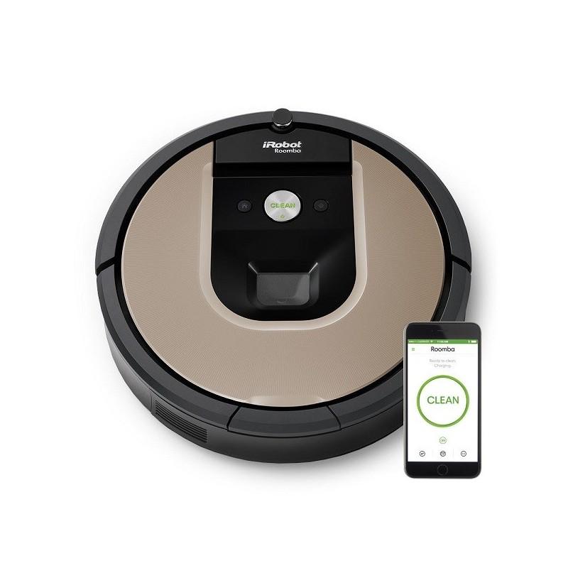aspirateur robot roomba 966 irobot. Black Bedroom Furniture Sets. Home Design Ideas