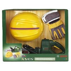 Tronçonneuse jouet enfant BOSCH + kit securité EPI KLEIN 8435