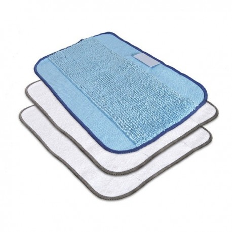 Lot de 3 tissus de nettoyage mixtes pour BRAAVA 390t IROBOT
