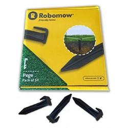 50 piquets de fixation pour câble périmétrique ROBOMOW MRK7101A