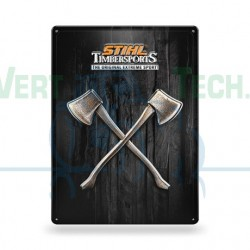 Plaque en tôle murale STIHL TIMBERSPORTS 04205600003