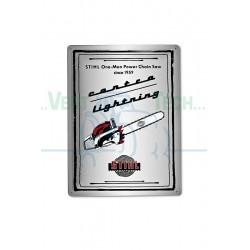 Plaque en tôle murale Héritage STIHL 04206600004