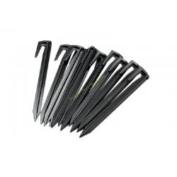 Piquets de fixation 100 pieces pour câble GARDENA 4090-20