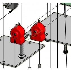 Interrupteur à pression coudé DW-10S BELROBOTICS YAMABIKO BR14205