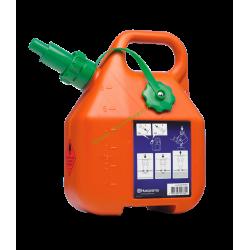 Bidon d'essence avec bec verseur anti-refoulement 6 litres HUSQVARNA 505698001