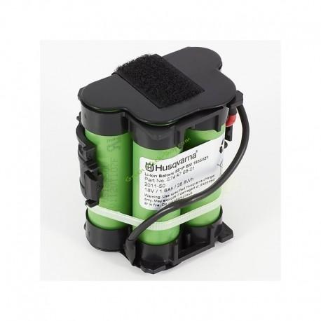 Batterie Li-ion pour robot série 100 HUSQVARNA 589586101