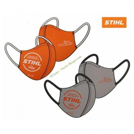 Lot de 2 masques anti Covid19 STIHL 04216000004