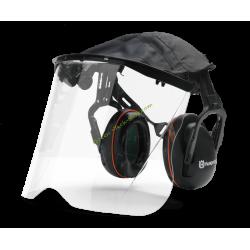 Visière plexiglas avec protèges oreilles HUSQVARNA 505665348