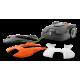 Coque supérieure Orange pour robot 305 HUSQVARNA 597703102