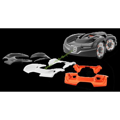 Coque supérieure Grise pour robots série AWD HUSQVARNA 596300001