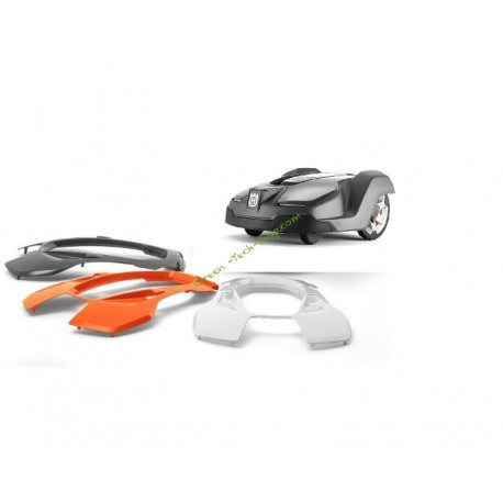 Coque supérieure Orange pour robot 430X HUSQVARNA 590877003