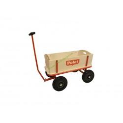 Chariot Patache en bois pour enfants jouet POLET