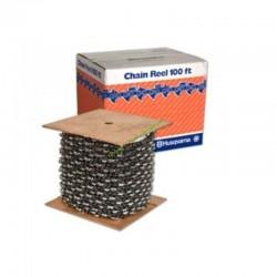 """Rouleau de chaîne de tronçonneuse H28 Semi Chisel 325"""" 1,3mm HUSQVARNA 503300322"""