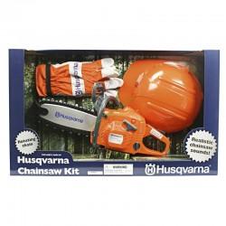 Tronçonneuse jouet enfant + kit sécurité HUSQVARNA