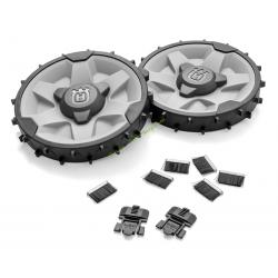 Kit roues OffRoad pour robots 305 405X 415X HUSQVARNA