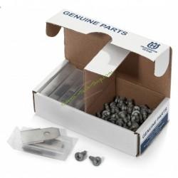 Kit 45 lames 0.60mm CarbonSteel LongLife + vis HUSQVARNA 577606505