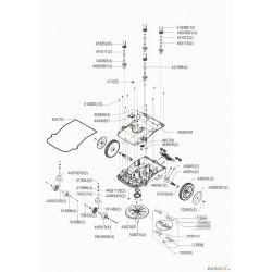 Enjoliveur de roue arrière pour robot Robolinho ALKO 44000287