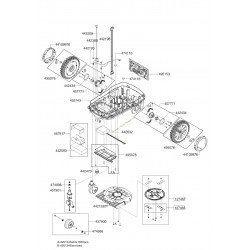 Moteur de roue arrière pour robot Robolinho ALKO 457739