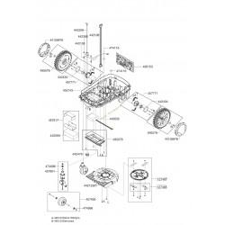 Carter de coupe pour robot Robolinho ALKO 44213301