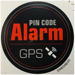 Autocollant Anti Vol GPS pour robot HUSQVARNA 594054801