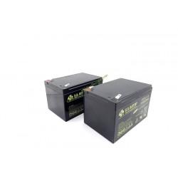 Lot de 2 Batteries 12Ah pour robot Mi322 VIKING 63004001100