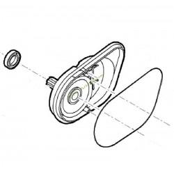 Couvercle du réducteur droit pour robot Mi322 VIKING