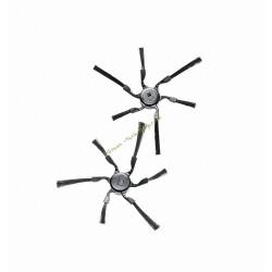 Lot de 2 brosses latérales RX2/RX3-SB6 pour robots Scout RX2 et RX3 MIELE RX2/RX3-SB6