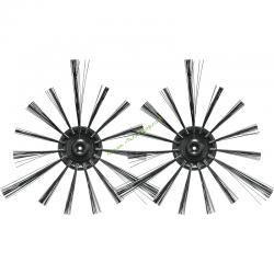 Lot de 2 brosses latérales pour robot DRC200 MAKITA SH00000065