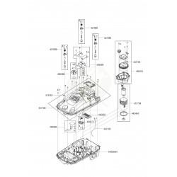 Clavier avec châssis supérieur pour robot Robolinho ALKO 457766
