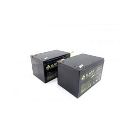Lot de 2 batteries 12Ah pour robot série RM ROBOMOW MRK5001A