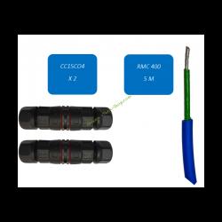 Kit de réparation pour câble Ø4mm RMC OSVAN RMCREP5