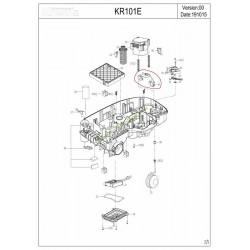 Capteur de câble pour robot KR101E KRESS 59000198