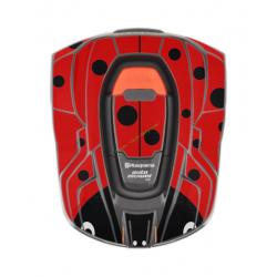 Kit déco Sticker COCCINELLE pour robots 320-420-440 HUSQVARNA