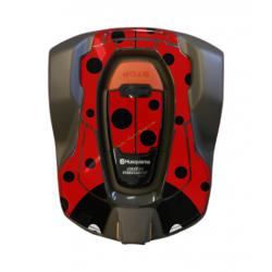 Kit déco Sticker COCCINELLE pour robot 430X HUSQVARNA