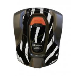 Kit déco Sticker ZEBRE pour robot 430X HUSQVARNA