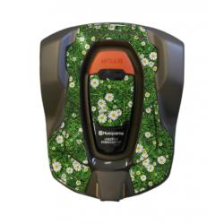 Kit déco Sticker FLEUR pour robot 430X HUSQVARNA
