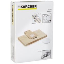 Kit 5 sacs filtrants papier + 1 micro filtre pour la station de charge