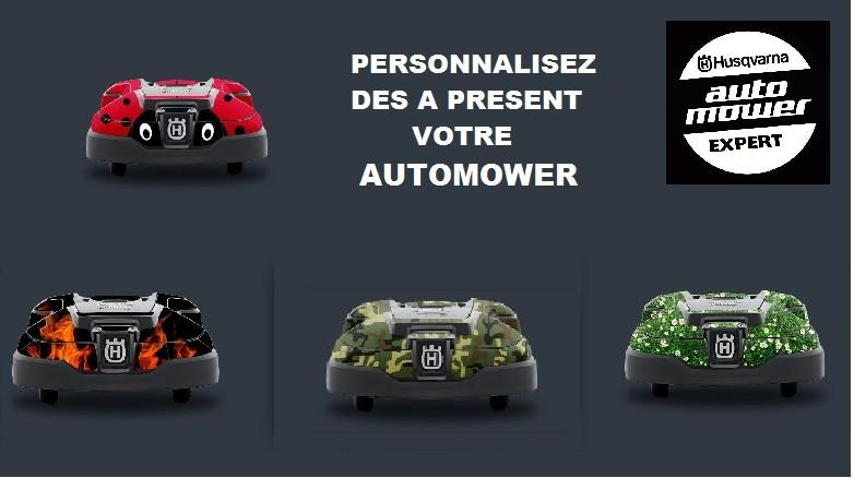 A chacun son Automower®! Personnalisez dès à presént votre Automower®