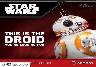Sphero BB-8, le robot connecté réservé aux fans de Star Wars